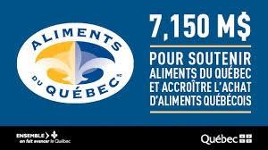 Mise en valeur des produits bioalimentaires québécois – Québec annonce une aide financière de 7,15 millions de dollars